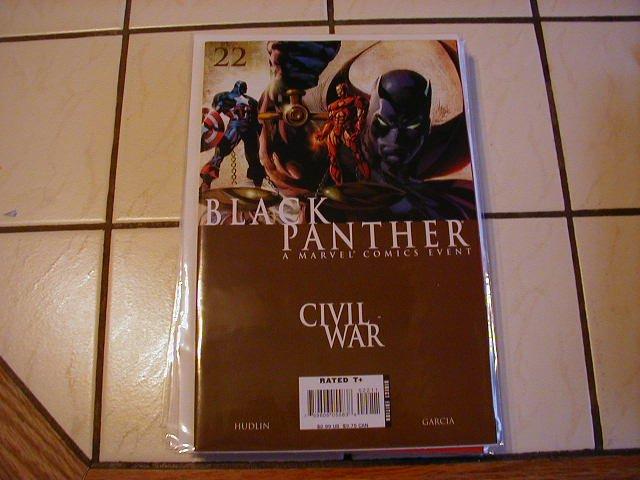 BLACK PANTHER #22 NM  CIVIL WAR