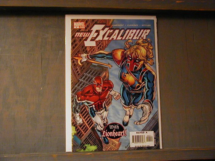 NEW EXCALIBUR #4 (2006) NM