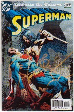 SUPERMAN #210 NM WONDER WOMAN