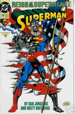 SUPERMAN #79 NM