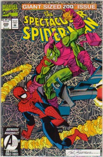 SPECTACULAR SPIDER-MAN #200  **FOIL COVER- DEATH ISSUE**