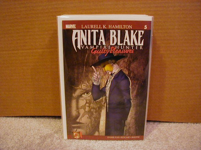 ANITA BLAKE VAMPIRE HUNTER GUILTY PLEASURES #5 NM