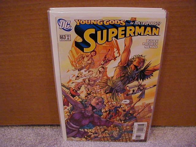 SUPERMAN #663 NM (2007)