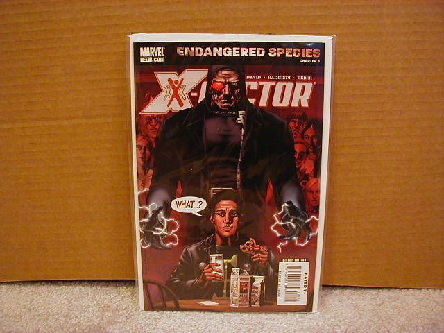 X-FACTOR #21 NM (2006)  ENDANGERED SPECIES CHAPTER 3