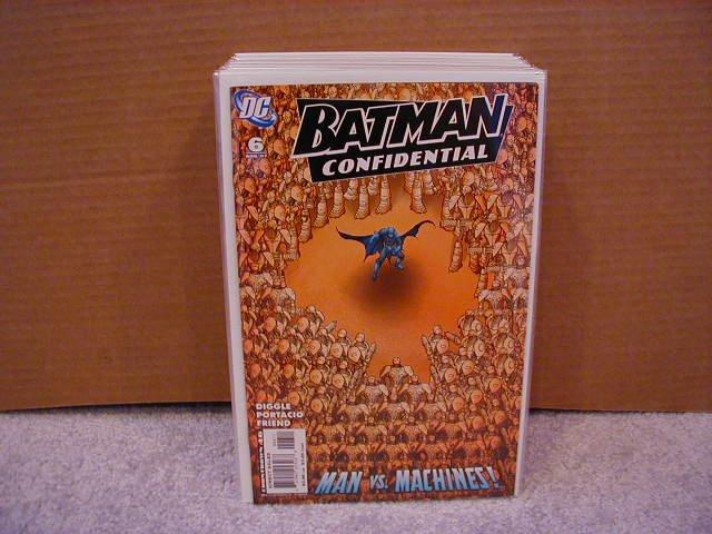BATMAN CONFIDENTIAL #6 NM