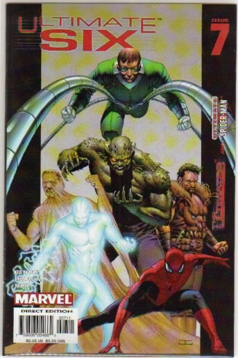 ULTIMATE SIX #7 NM **SPIDER-MAN** NM