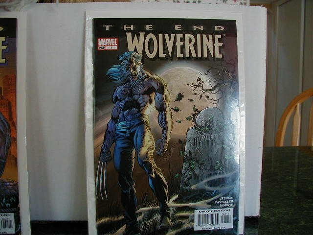 WOLVERINE THE END #1 NM