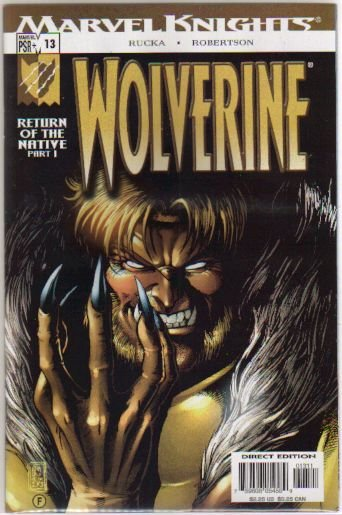 WOLVERINE VOL 2 #13 NM
