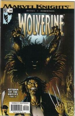 WOLVERINE VOL 2 #14 NM