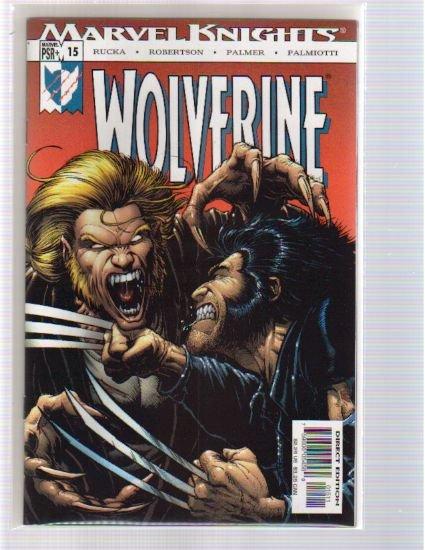WOLVERINE VOL 2 #15 NM