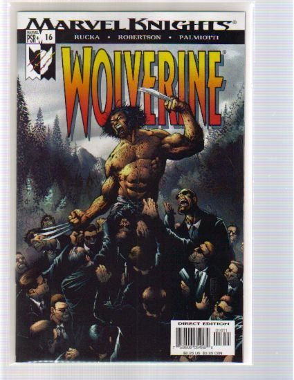 WOLVERINE VOL 2 #16 NM
