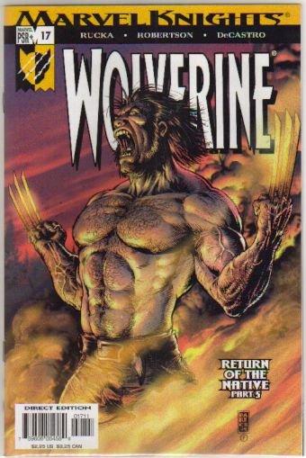 WOLVERINE VOL 2 #17 NM