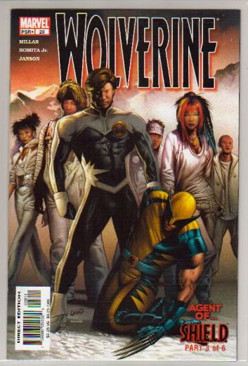 WOLVERINE VOL 2 #28 NM