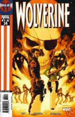WOLVERINE VOL 2 #34 NM HOUSE OF M