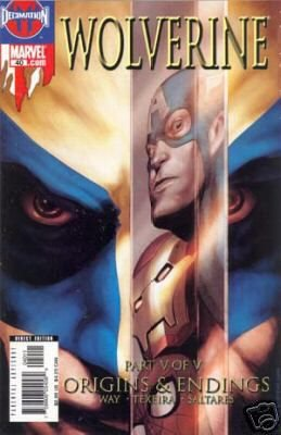WOLVERINE VOL 2 #40 NM ORIGINS & ENDINGS