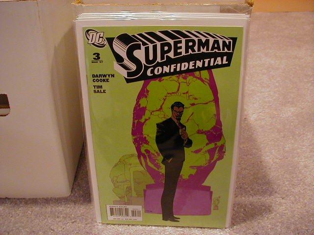 SUPERMAN CONFIDENTIAL #3 NM