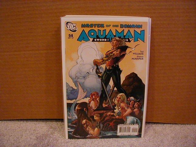 AQUAMAN SWORD OF ATLANTIS #54 NM