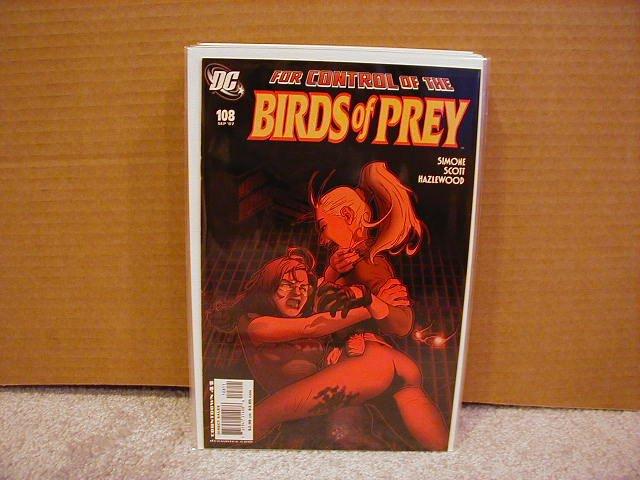 BIRDS OF PREY #108 NM