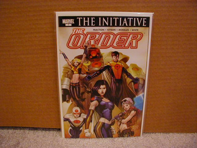 THE ORDER #1 COVER A NM (2007) NEW MARVEL SERIES