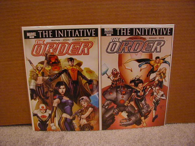 THE ORDER #1 BOTH VERSIONS SET OF 2 BOOKS