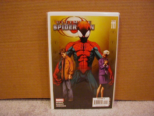 ULTIMATE SPIDER-MAN #111 B-COVER NM