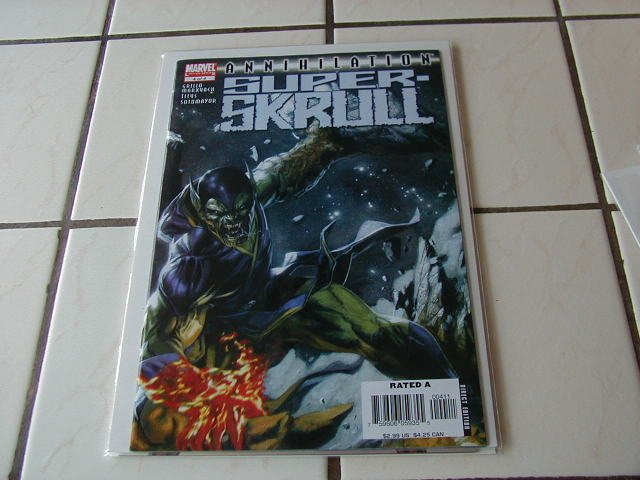 ANNIHILATION SUPER SKRULL #4 NM