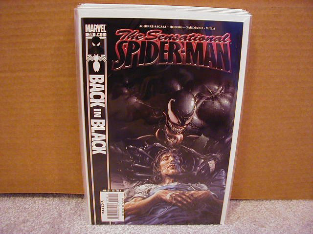 SENSATIONAL SPIDER-MAN #39 NM  BACK IN BLACK