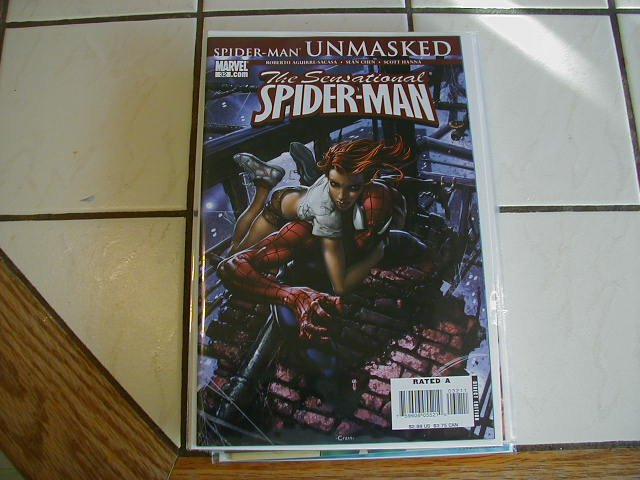 SENSATIONAL SPIDER-MAN #32 NM