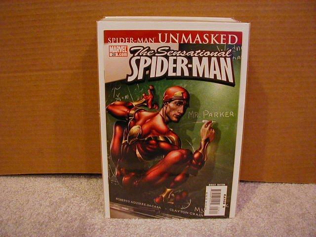 SENSATIONAL SPIDER-MAN #28 NM