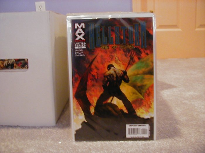 HELLSTORM SON OF SATAN #4 LIMITED SERIES NM  (2006)