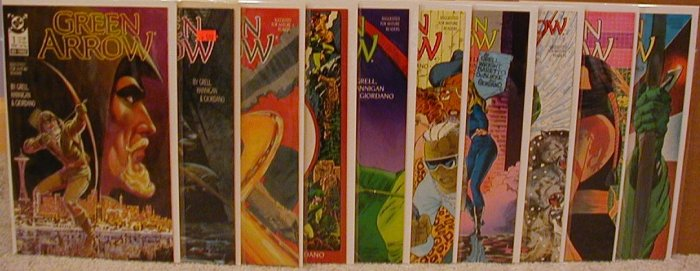 GREEN ARROW #1-10 VF OR BETTER -** FREE SHIPPING AND MORE!!