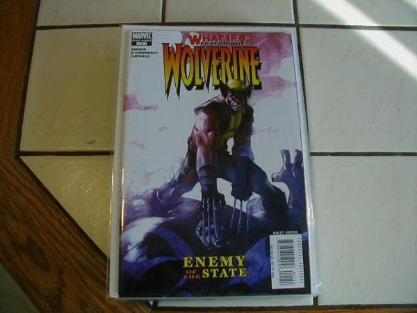 WHAT IF? WOLVERINE ENEMY OF THE STATE NM