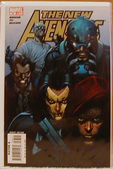 NEW AVENGERS #33 NM    SO, WHO'S A SKRULL??