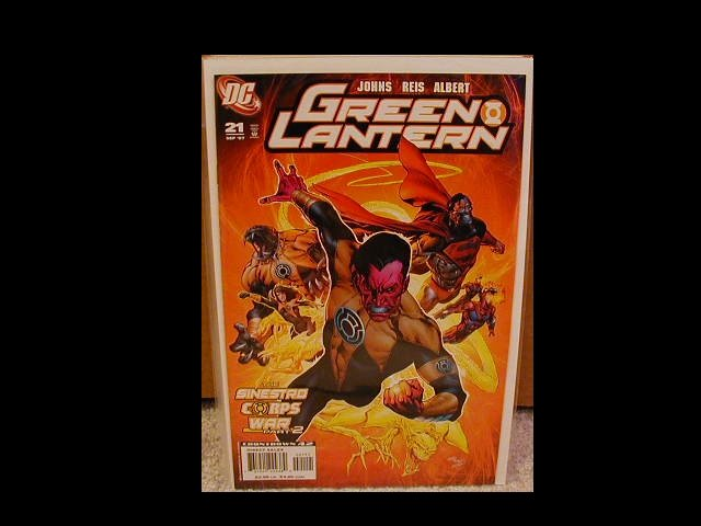 GREEN LANTERN #21 NM SINESTRO CORPS PART 2