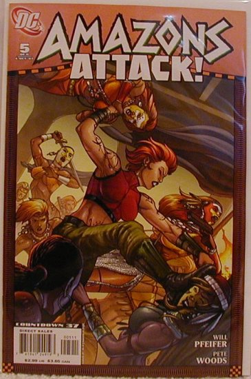 AMAZONS ATTACK! #5 NM