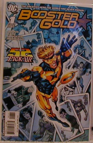 BOOSTER GOLD #1 NM (2007)