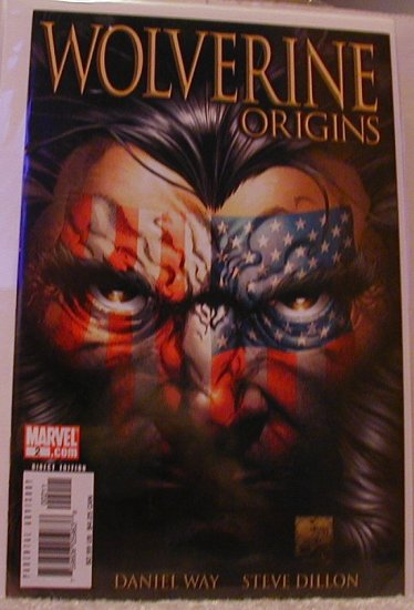 "WOLVERINE ORIGINS #2 1ST PRINT NM ""A"" COVER"