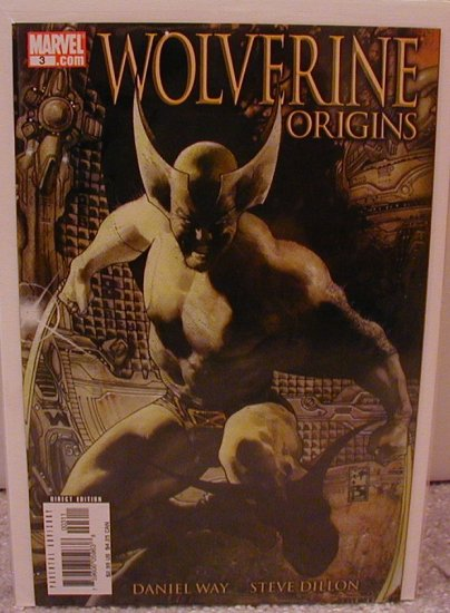 WOLVERINE ORIGINS #3 B COVER 1ST PRINT NM