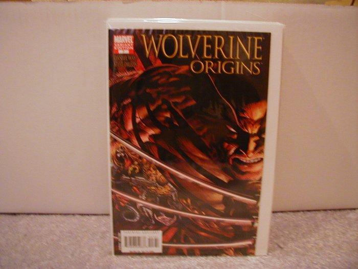 WOLVERINE ORIGINS #7 VARIANT COVER 1ST PRINT NM