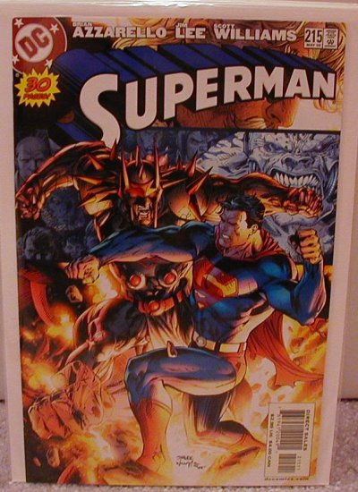 SUPERMAN #215 NM