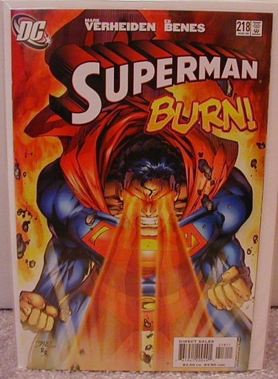 SUPERMAN #218 NM