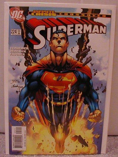 SUPERMAN #224 NM  INFINITE CRISIS CROSSOVER