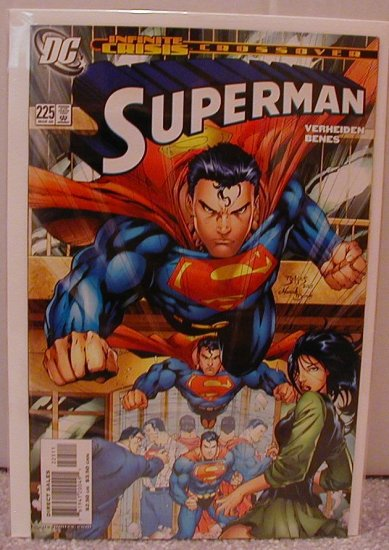 SUPERMAN #225 NM INFINITE CRISIS CROSSOVER