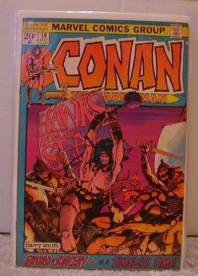 CONAN THE BARBARIAN #19 FN+