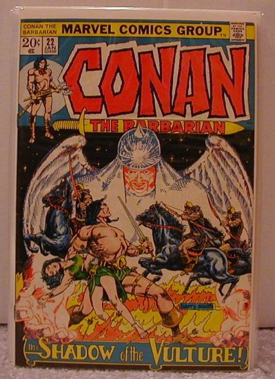 CONAN THE BARBARIAN #22 FINE