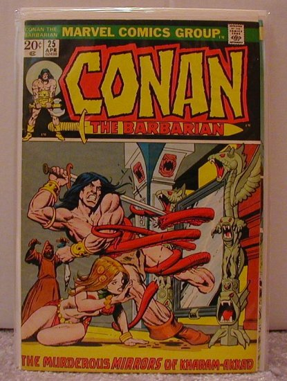 CONAN THE BARBARIAN #25 FINE-