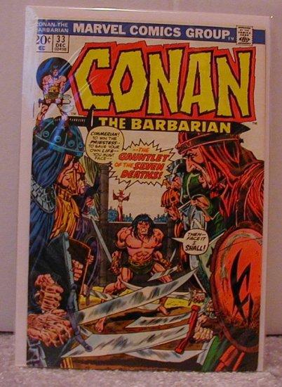 CONAN THE BARBARIAN #33 F/VF