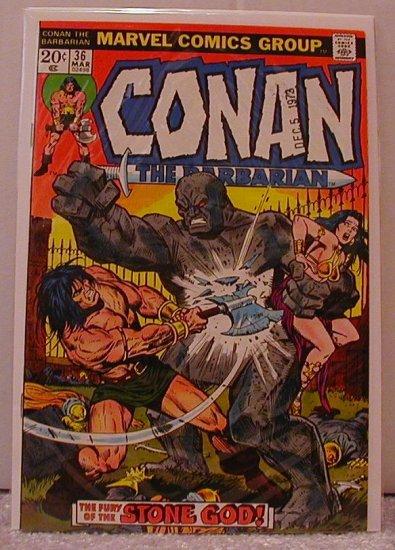 CONAN THE BARBARIAN #36 F/VF