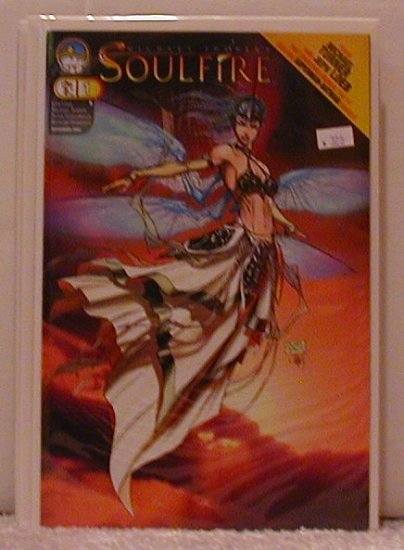 SOULFIRE  #1 B COVER