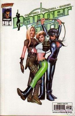 DANGER GIRL #3 C COVER NM